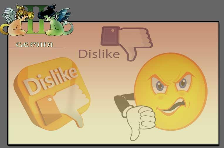 Gemini likes and dislikes